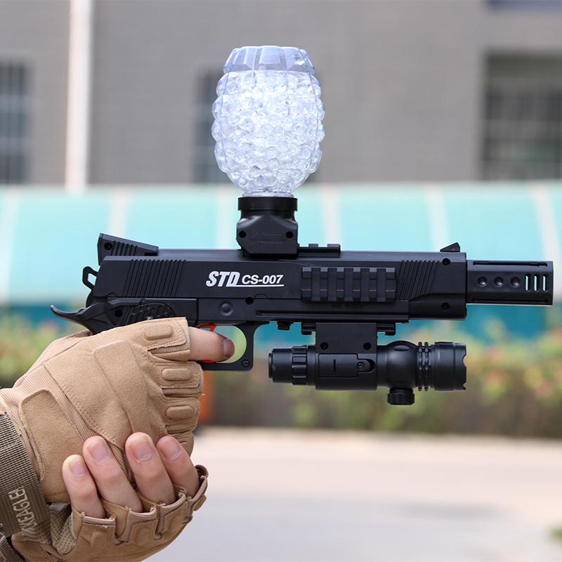 水弹枪M1911电动连发成人玩具手枪式CS玩具冲锋枪对战手枪锂电池