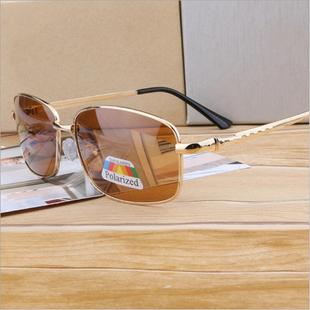 男开车驾驶偏光镜2020韩国潮墨镜长方形茶色送爸爸太阳镜夏季眼镜图片