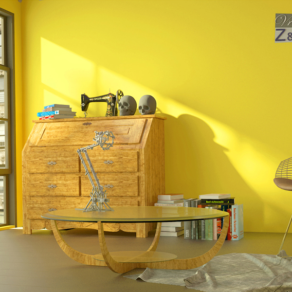 北欧风墙纸纯色素色卧室客厅电视背景暖黄米黄柠檬黄亮黄色系壁纸