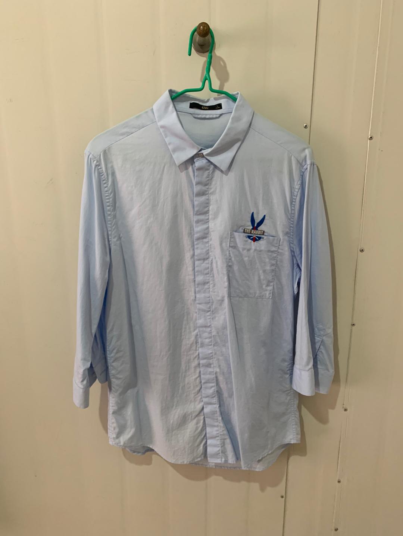 Gxg和太平鸟中袖衬衫,9成新,175吗的,要的一块销售,更