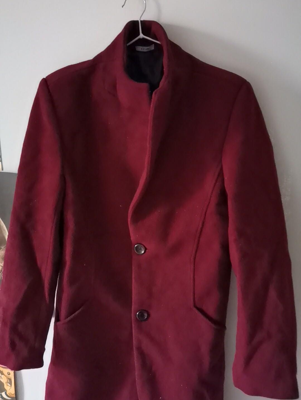 男士风衣韩版秋冬季中长款毛呢大衣呢子外套2020新款男装潮流
