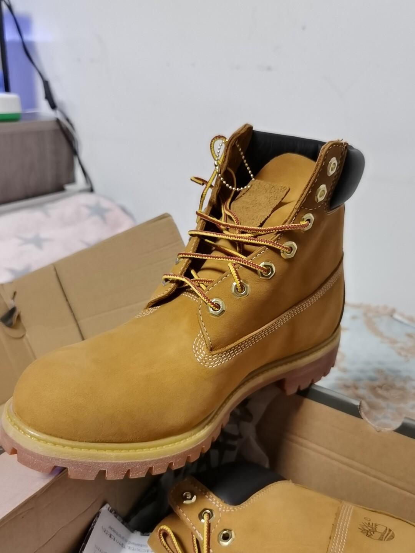 Timberland 添柏岚 大黄靴 10061 宽 工装靴
