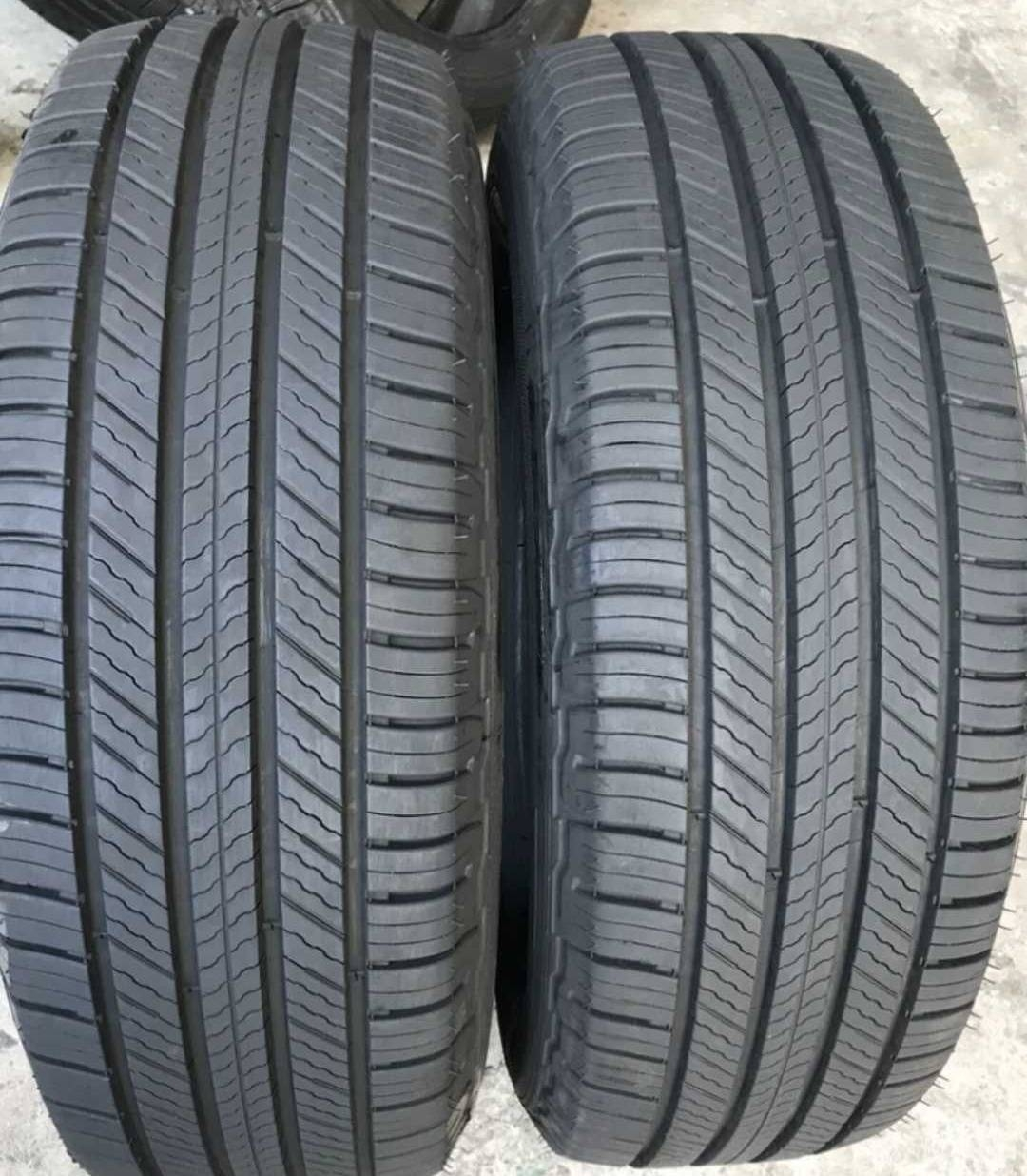 米其林马牌静音轮胎 正品九成新拆车件17寸18寸19寸20寸
