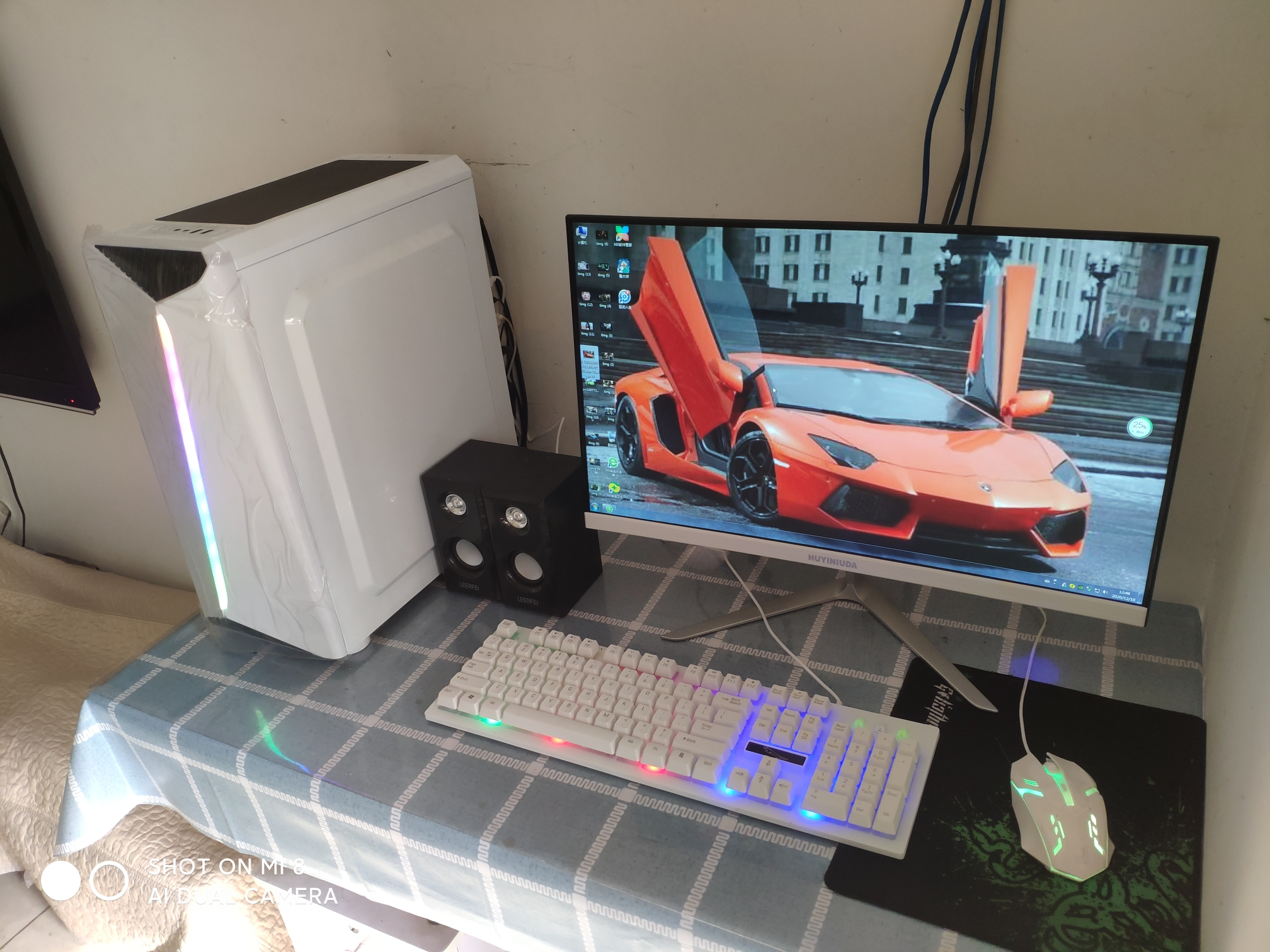 台式机整机主机台式机电脑吃鸡主机高配电脑游戏主机台式机组装机
