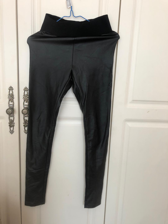 薄加绒皮裤s码质量很好