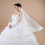 Honey marriage Wedding Veil, lace crazy best selling yarn TS-01-