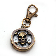 Smiling post skull key ring pendant Jewelry Accessories jewelry 358716