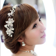 Good soft pretty bride rhinestone frontlet headdress three suit Han Shi wedding accessories wedding jewelry for e-mail