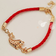 Good female goldfish lovers of fashion bracelet jewelry Korean bracelets red string bracelets girls sweet