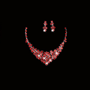 Honey made necklaces popular wedding necklace earrings set necklace-