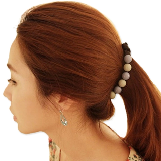Know Connie hair Korea head button vertical clamp issuing Korean twisting hairpin peas, banana clips and twisted clip ponytail holder