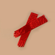 Honey made gloves glove/gloves/the Bride/dresses ruffled long red gloves ST-22-