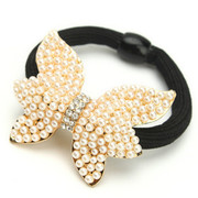 B077 fine jewelry Korea accessories exquisite rhinestone Butterfly hair jewelry loving circle flowers
