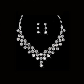 Honey because the new popular wedding necklace earrings set wedding necklace necklaces