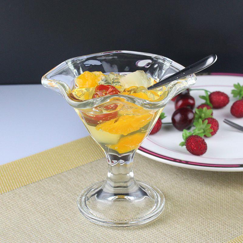 玻璃杯子冰激凌 西餐厅雪糕杯 冰淇淋杯 果汁杯沙冰杯 奶茶杯