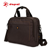 Dapai counters computer baodan business casual Korean version of the Office handbag bag shoulder bag Messenger bag men Chao