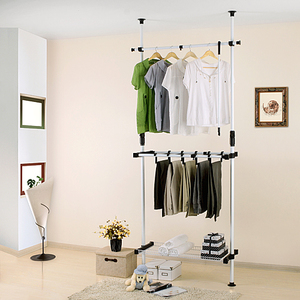 Aoge residential furniture steel frame simple wardrobe combination wardrobe assembly single simple cabinet metal clothes storage cabinet