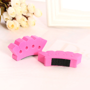 Know Connie hair salons fashion plate sponge braided hair hairstyle braided hair clip hair tools