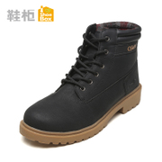 Winter new fashion shoe shoebox2015 Martin short boots with low tide with low tube boots 1115515060