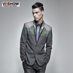 Viishow men's new slim suit men winter jacket coat men's tide