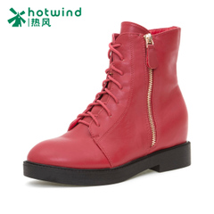 Hot Lady high boots with flat bottom Martin boots women's boots in the UK wind 75H5018
