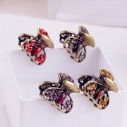 Good Korea jewelry rhinestone Barrette Korean fashion hair bangs clip catch small claw clip jewelry