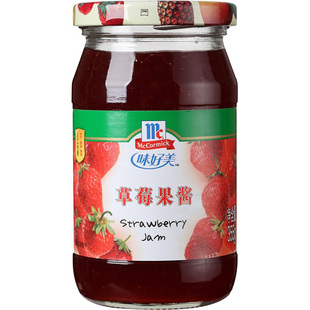 味好美 草莓果酱355g/瓶 酸甜可口 厨房烘焙调料