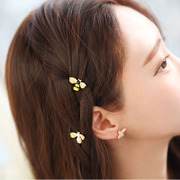 Cool na Korean headdress bee Barrette Korean bangs clip clip the side clip ornament ornaments made by Japan and South Korea 6458