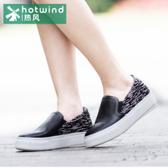 Shoes spring School of the new wind of hot air sponge cake Le Fu, thick-soled shoes women's flat casual shoes 71H5724