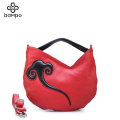 Bampo Banpo accessories fall/winter 2014 original brand new ethnic wind leather ladies laptop bag