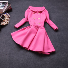2014 two-piece early autumn new Womenswear temperament little fields breathe sweet Princess dresses with ladylike suits autumn Europe #