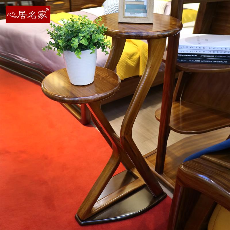 en el corazn de los muebles de madera maciza de madera maciza flor de oro nrdico de