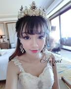 Well married Yao vintage Baroque beauty bride and Queen Crown tiara Crown Studio shooting accessories