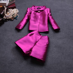 2015 spring new ladies casual temperament slim two-piece shorts suit #