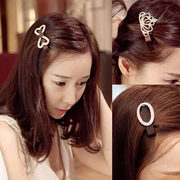 Know Richie flower accessories hairpin clip Korea Princess tiara hair accessories Crystal bow bangs clip a clip