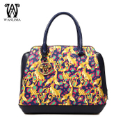 Wanlima/million 2015 new ladies bags ladies bags for fall/winter print fashion handbag