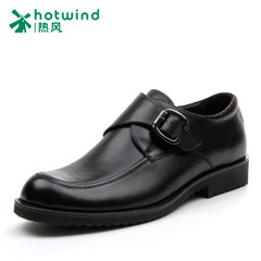 Hot air layer cowhide tooling leather shoes men's spring head men's feet business men shoes 61L4718