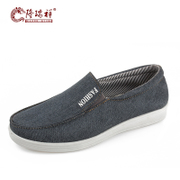 Long Ruixiang lightweight simplicity of old Beijing cloth shoes in the spring male everyday casual shoe breathable 2016 Youth shoes new