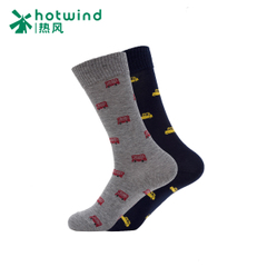 Hot air men's fun bus gentleman new warm winter socks high men's socks # 83034710