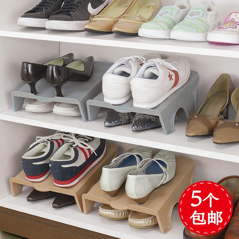 日本鞋架塑料简易创意家用鞋子收纳架整理架现代简约鞋柜收纳鞋盒