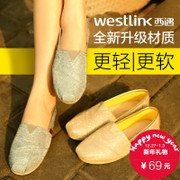 Westlink West sneakers women shoes feet lazy autumn leisure shoes student Mary shoes SZ