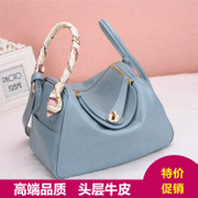 Ou Xuan Lai Chi Kok marks the first layer leather Kit di Bao Lin temperament female doctor bag handbag shoulder bag