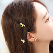Hair accessories Korea jewelry hair jewelry cute little bee rhinestone hair clip bangs clip a clip