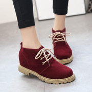 2015 New England autumn shoes Scrubs with flat shoes take school of retro shoes leisure shoes