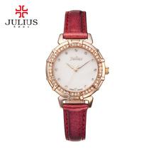 包邮Julius聚利时2015石英机芯手表时尚防水韩版女日韩腕表JA-757