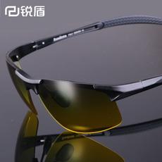 司机夜视镜偏光太阳镜男士墨镜日夜两用开车专用驾驶运动眼镜增晰
