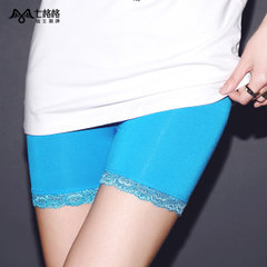 Seven space space OTHERMIX2015 new summer wardrobe malfunction-proof safety pants lace stitching leggings
