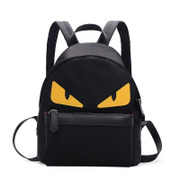 Ou Xuan new little monster backpack small evil eye fun bags backpacks for men and women and leisure bags