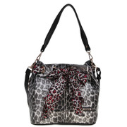 2015 new Leopard print small European fashion trends for baodan shoulder bag lady bag handbag B1055-4