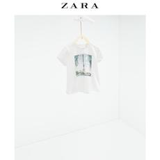 """春夏折扣 ZARA 童装 """"Paris"""" T 恤 06208500712"""
